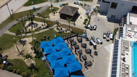 Ocean Place Resort & Spa : View of The Tiki Bar