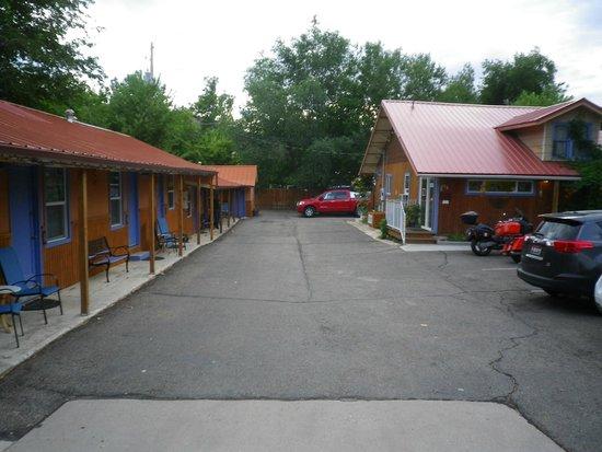 Kokopelli Lodge & Suites: quiet area