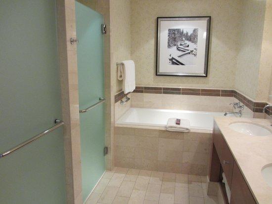 The Ritz-Carlton, Lake Tahoe: BATHROOM
