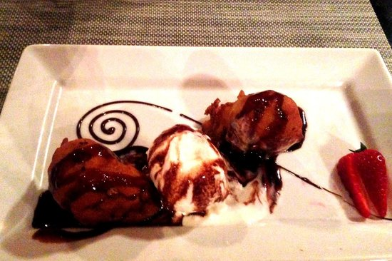 Sandos Playacar Beach Resort : Dessert at Asiana