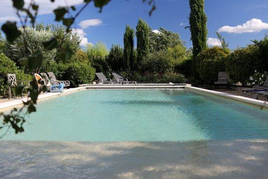Le Mas des Etoiles : piscina