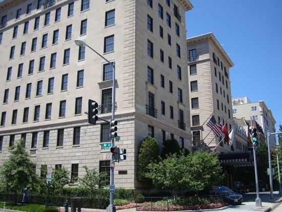 The Jefferson, Washington DC: Hotel exterior