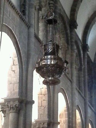 Pilgrim mass,botafumeiro