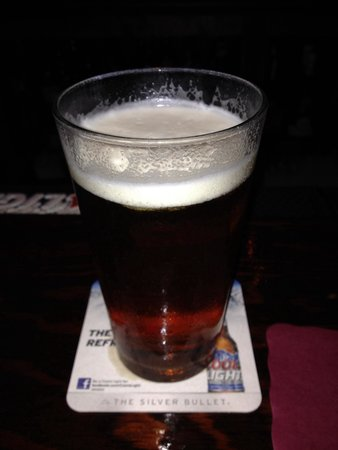 Nanuet Hotel & Restaurant: Just a cold one.