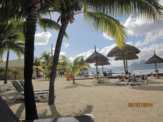 Preskil Beach Resort: On beach at resort