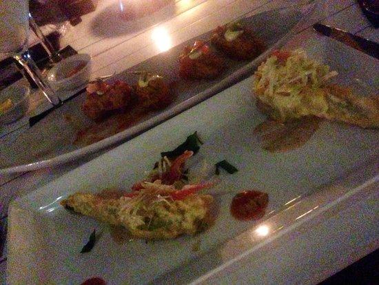Cocoon Restaurant Bar Beach Club: Food