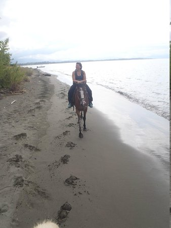 Iguana Lodge: Ivan's Horse Tour