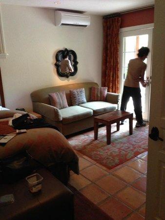 Eden Vale Inn: Doors to patio