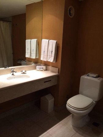 Howard Johnson Plaza Florida Street: Banheiro