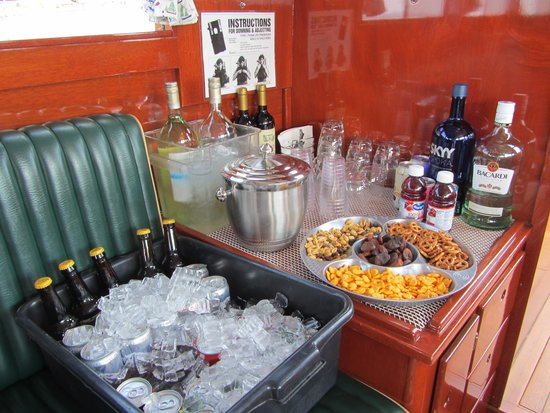 Grand Tahoe Charters, Wild Goose II-Boat Tours: SNACKS/DRINKS