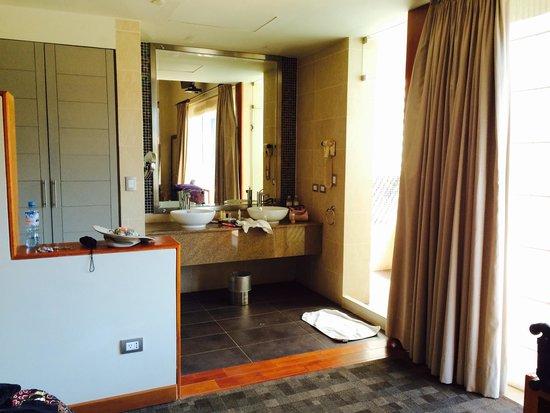 Aranwa Sacred Valley Hotel & Wellness: Lavamanos en la habitación