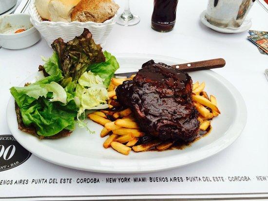 Novecento: Steak Frites au Poivre