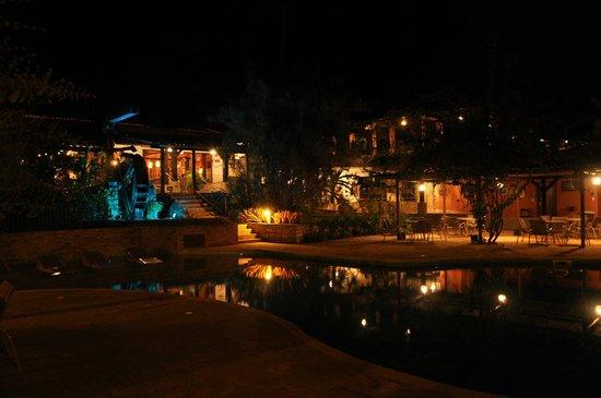 Hotel de Lencois: Área de lazer e descanso
