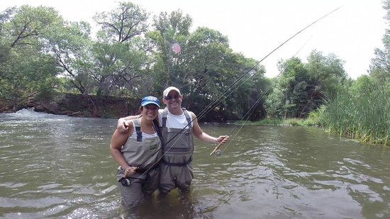 Very nice brown picture of sedona fly fishing adventures for Sedona fly fishing