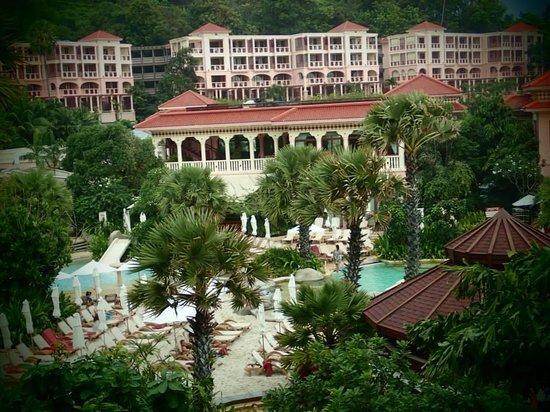 Centara Grand Beach Resort Phuket : view from our back door