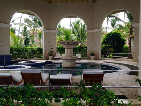 Hotel Majestic Colonial Punta Cana : Spa view