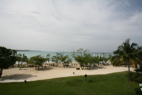 Sandals Whitehouse: View from our rooms balcony