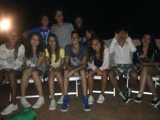 Hotel Club Santa Sabina : foto di un gruppo Junior (2)