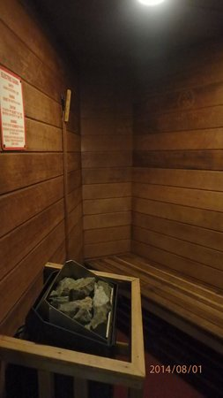 Paradise Stream Resort : Sauna