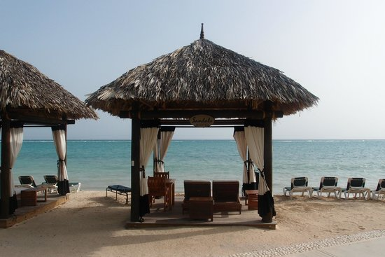 Sandals Whitehouse: This was a cabana with butler service that could be rented. Very cool.