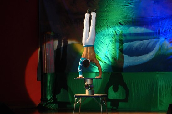 Sandals South Coast : Talented acrobats! Great night time entertainment