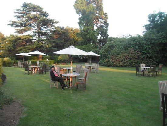 Hotel Buckerell Lodge: Great Garden for Drinkies!