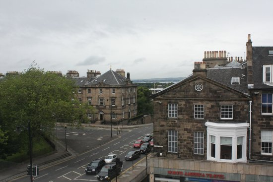 The Roxburghe Hotel: Our room on the NW corner, 3rd floor
