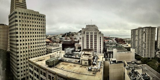 Le Meridien San Francisco: View from the room