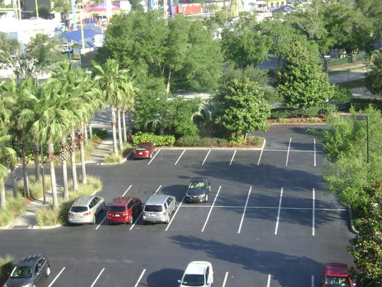 Comfort Suites Maingate East: view from my room