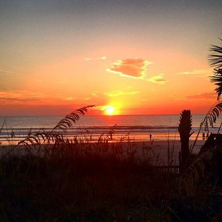 BEST WESTERN New Smyrna Beach Hotel & Suites: Gorgeous sunrises!!