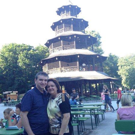 Jardín inglés: Torre Chinesa