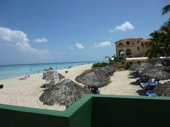 Hotel Los Delfines: Playa