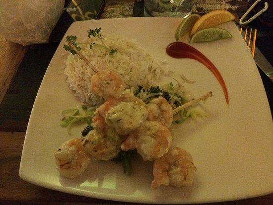 Ginger - Carib Asian Cuisine-: Camarão
