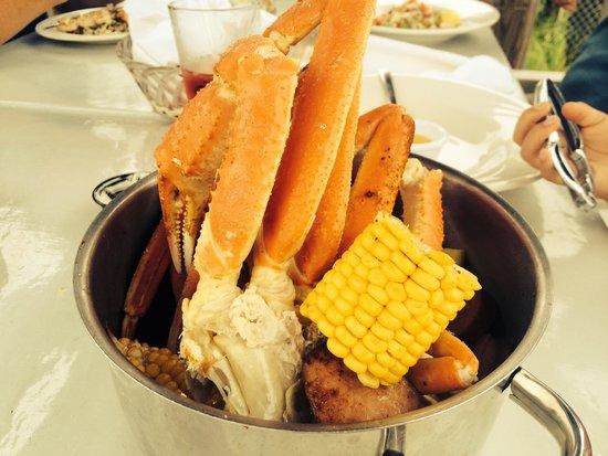 Pilot House: Seafood smorgasbord. Lol