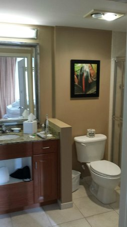 Residence Inn Fort Lauderdale Pompano Beach/Oceanfront: Bathroom in Bedroom 2