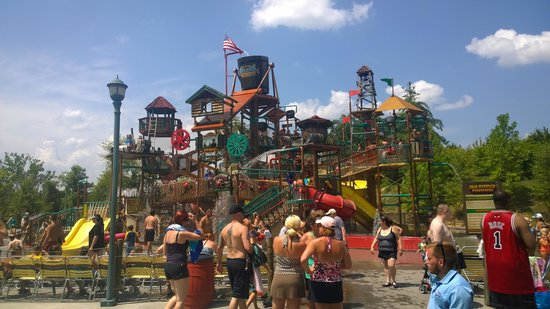 Dollywood's Splash Country Water Adventure Park: Kids Play Area
