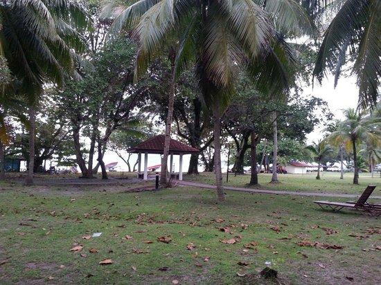 Holiday Villa Beach Resort & Spa Langkawi: Vue sur la plage depuis la chambre