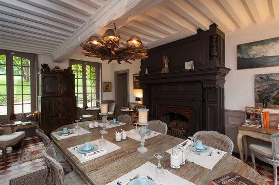 La Maison du Parc : breakfast room