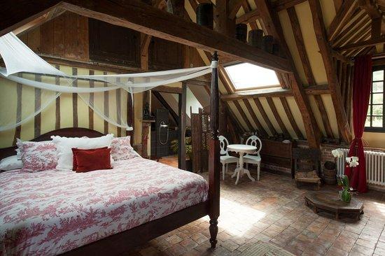 La Maison du Parc : La chambre araucaria