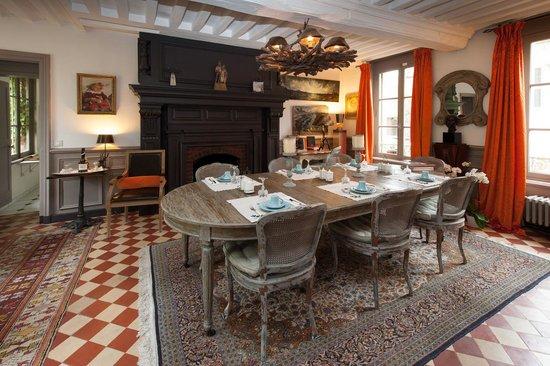 La Maison du Parc : la salle du petit déjeuner