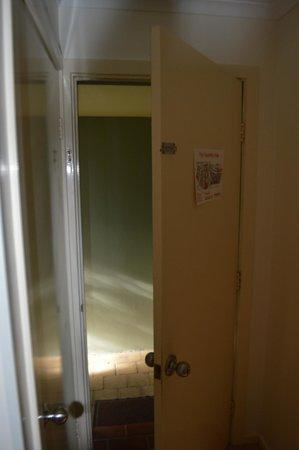 BreakFree Aanuka Beach Resort: Door kept opening - unable to lock properly