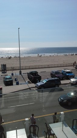 Boardwalk Inn: morning view from balcony