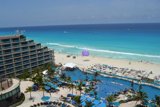Hard Rock Hotel Cancun: view from our room
