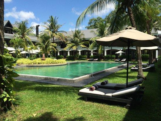 Shinta Mani Shack: view of pool