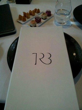 TRB: Menu