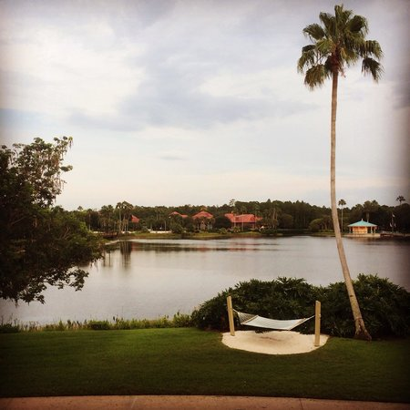 Disney's Coronado Springs Resort: View from our too