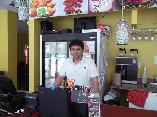 Tandoori Tastes: Tandoori Taste Owner Joe