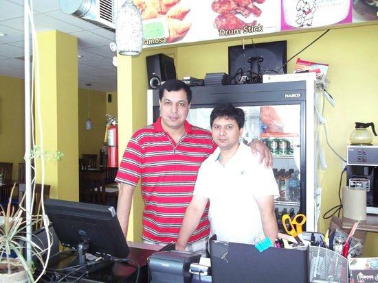 Tandoori Tastes: Me with Owner Joe