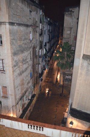 Hotel Arc La Rambla: View from balcony