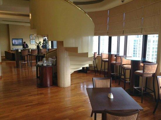 Holiday Inn Singapore Atrium: クラブラウンジ